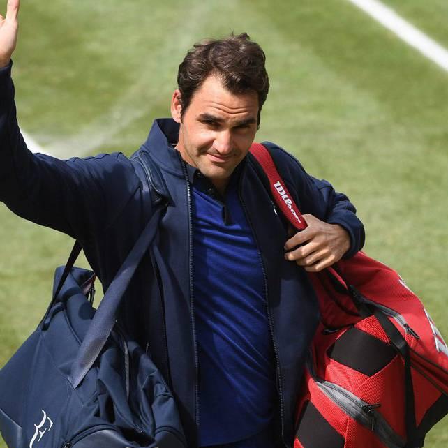 Federer zum Spiel
