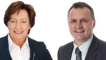 Sylvia Flückiger Befürworterin und Nationalrätin SVP kreuzte die Klingen mit Bernhard Guhl (BDP).