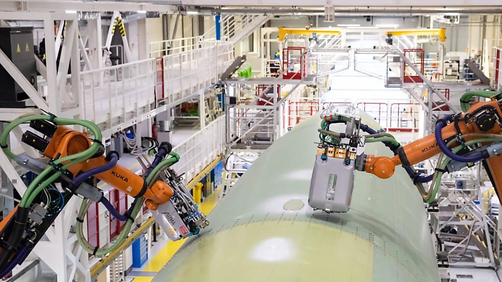 Airbus bereitet sich auf Steigerung der A320-Produktion vor