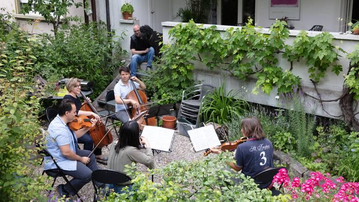 Das Musiktaxi besucht das Publikum zuhause.