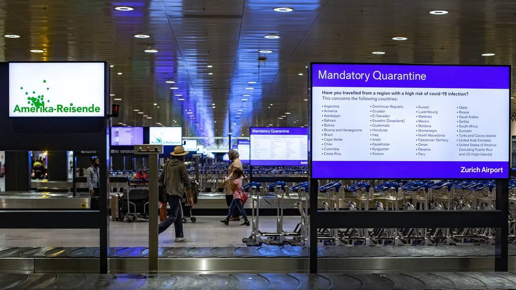 Personalverbände fordern Schnelltests an den Flughäfen