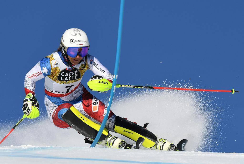Wendy Holdener gewinnt Silber im Slalom (© APA/Helmut Fohringer)