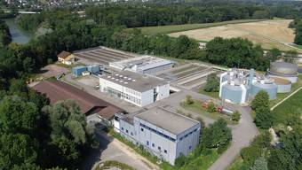 Kernstück des AVAU: Die Abwasserreinigungsanlage Aarau.