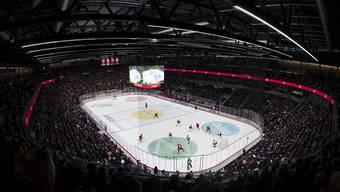 In der neuen Hockey-Arena von Lausanne findet am 2. Februar der Cupfinal statt