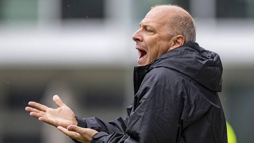 SC Kriens trennt sich von Trainer Davide Morandi – Michel Renggli übernimmt