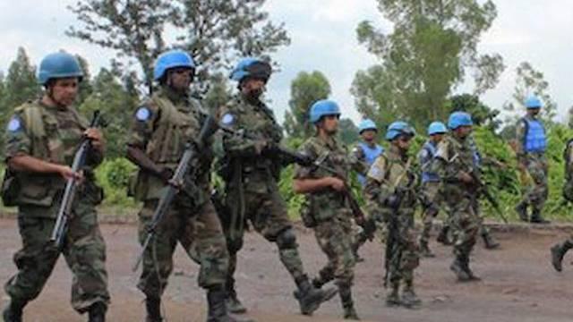 Soldaten der MONUSCO-Mission der UNO im Kongo (Archiv)