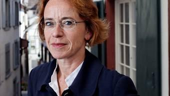 Eva Herzog: Die Basler Regierungsrätin präsentiert sich als führungsstrark.