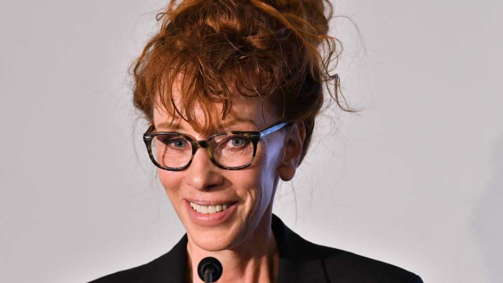 Schriftstellerin Sibylle Berg ist eine der fünf Nominierten für den diesjährigen Schweizer Buchpreis. Sie geht mit ihrem Roman «GRM. Brainfuck» ins Rennen.