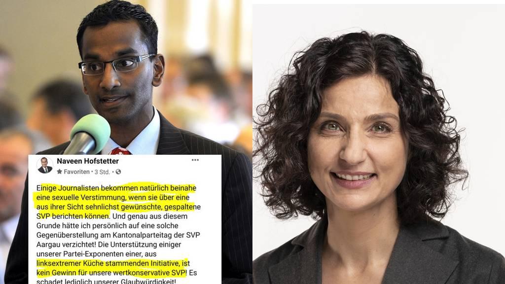 Staatsanwalt ermittelt nach üblem Facebook-Post gegen SVP-Hardliner