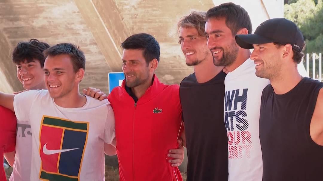 Tennisstar Novak Djokovic positiv auf Corona getestet