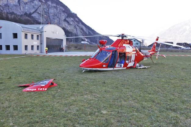 Von den vier Personen an Bord wurden gemäss Angaben der Urner Kantonspolizei drei Personen verletzt.