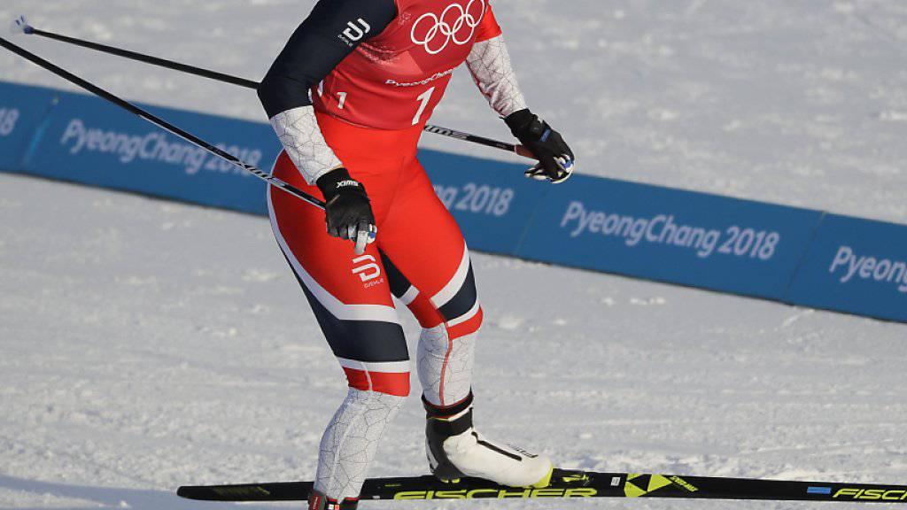 Keine Wintersportlerin gewann mehr Olympia-Medaillen als Marit Björgen
