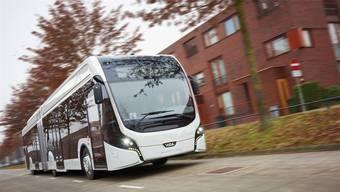 Die BVB-Elektrobusse stammen von der holländischen Firma VDL Bus & Coach – im Bild das Modell «Citea The E-Worker» zvG