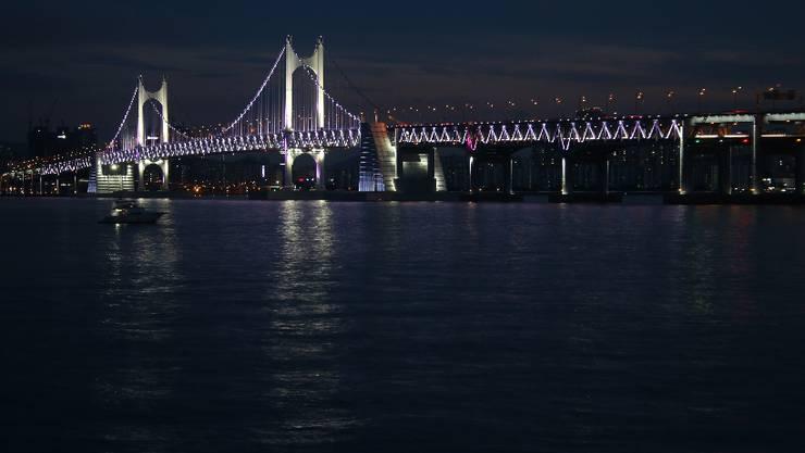 Die Woche beginnt in der südkoreanischen Hafenstadt Busan