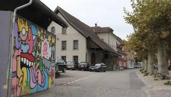 Durchschnittlich 7,4 Mio. Franken pro Jahr will Brugg künftig investieren. Hier an der Schulthess-Allee soll unter anderem bis 2023 die Zentralisierte Verwaltung in einer Überbauung entstehen.