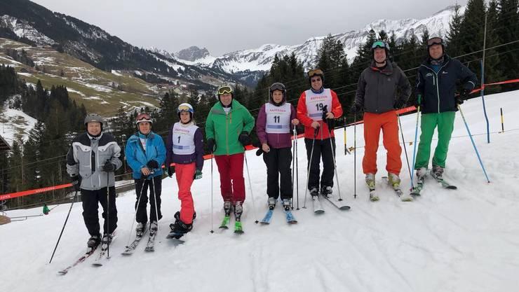 Die Landrätlichen Ski- und Snowboard-Cracks...
