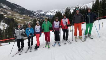 Bilder zum Nordwestschweizerischen Parlamentarierskirennen in Sörenberg 2018