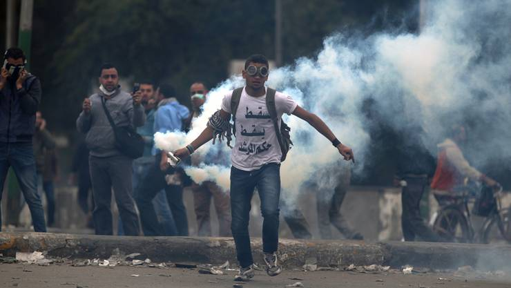 In Ägypten ist die Gewalt auf der Strasse wieder eskaliert.Keystone