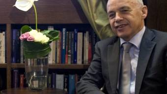 Bundesrat Ueli Maurer in Israel