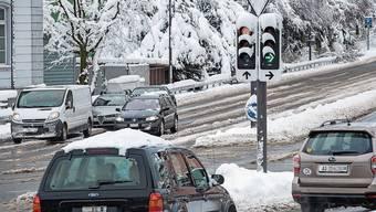 Kantonsstrassen wie die Bruggerstrasse haben auch eine städtische Bedeutung.