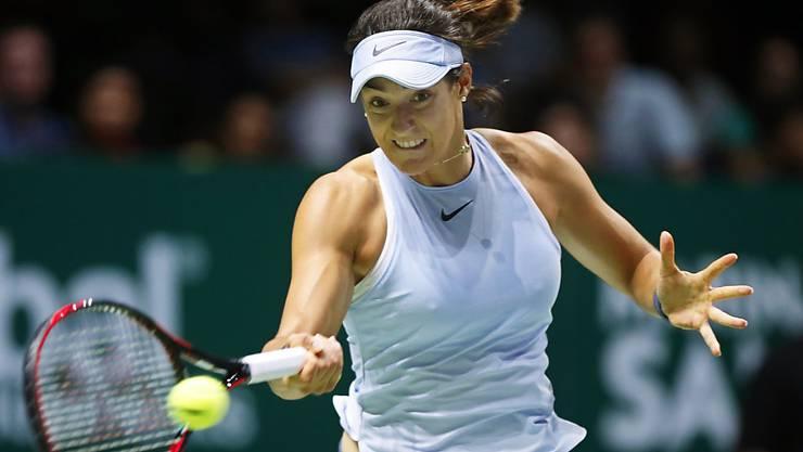 Beim Debüt an den WTA Finals gleich im Halbfinal: Caroline Garcia