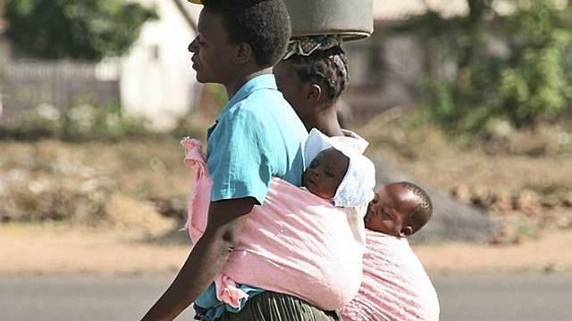 Spendenaktion zur Bekämpfung der Malaria (Symbolbild)