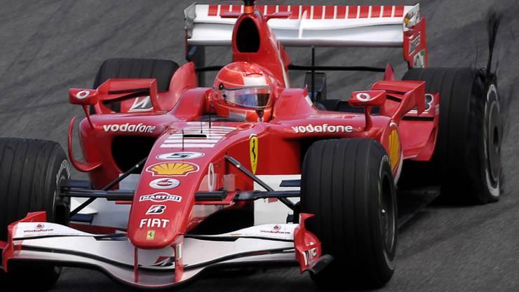 Michael Schumacher fuhr zwischen 1996 und 2006 für Ferrari