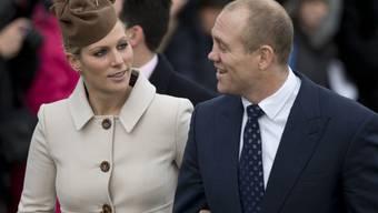 Traurige Weihnachten für das britische Königshaus: Zara Tindall (links), eine Enkelin von Queen Elizabeth II., hat ihr Kind verloren. Sie und ihr Mann Mike Tindall sollten im Frühling zum zweiten Mal Eltern werden. (Archivbild)