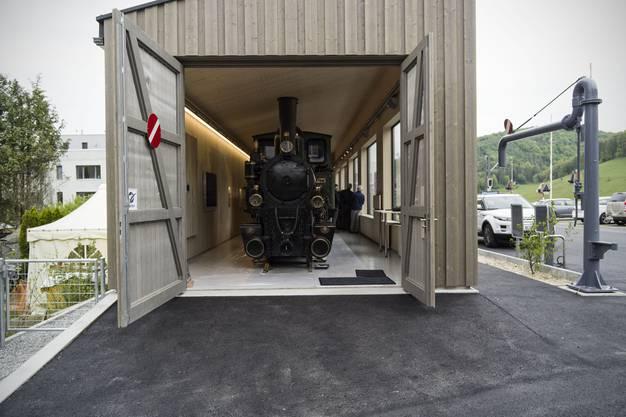 Die Dampflokomotive «Gedeon Thommen»