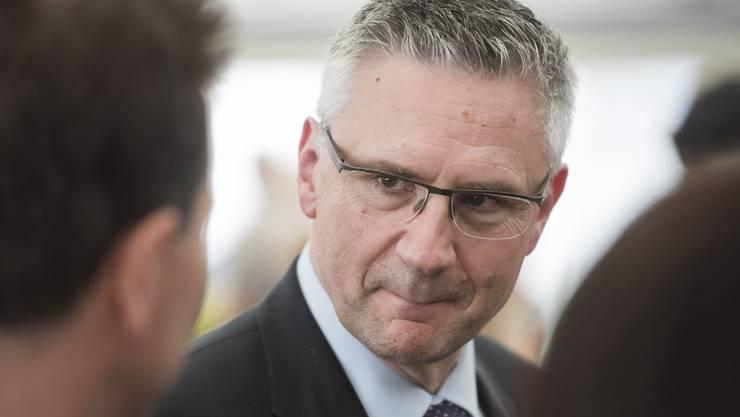 Will sich mässigen: Andreas Glarner (SVP).