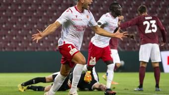Er jubelt ab jetzt für den FC Basel: Pajtim Kasami