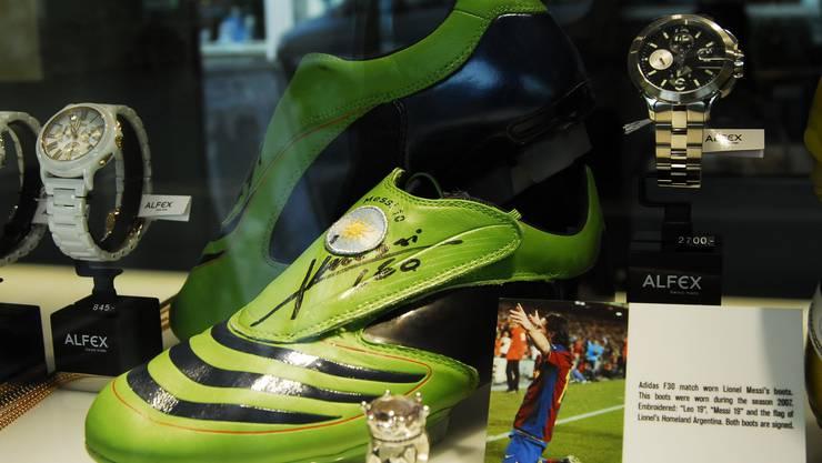 Lionel Messi dirigierte das Mittelfeld beim FC Barcelona 2007 mit giftgrünen Adidas