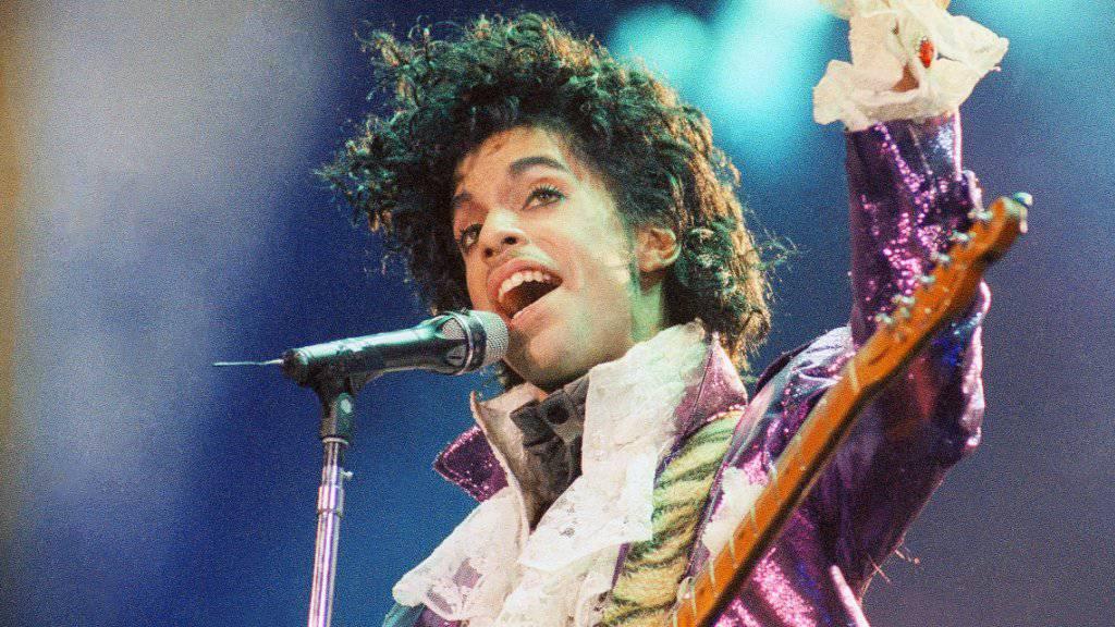 Auch er starb nach der Einnahme von Fentanyl: US-Sänger Prince. (Archivbild)