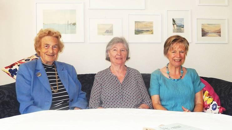 Drei der Pionierinnen: Gaby Egger, Madlen Simmen und Elisabeth Reinhard