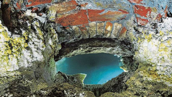 Die Quelle befindet sich im Untergeschoss des Verenahofs. So sieht die Hinterhofquelle aus, die wohl schon die Römer nutzten und die auch das neue Thermalbad speisen wird.
