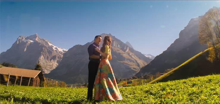 Im Programm: Ganz viel Bollywood. Hier eine Swissness-Szene aus einer indischen Produktion. HO