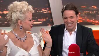 Patrick Schöpf und Shawne Fielding erzählen im «TalkTäglich» ihre Liebesgeschichte und reden übers Heiraten und über ihre Auftritte in Realityshows.