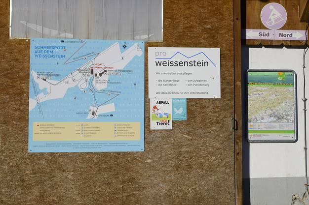 Schneesport auf dem Weissenstein