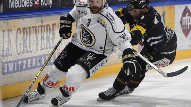 Julien Vauclair bestritt mit dem HC Lugano 20 Saisons. Nun wird der Tessiner Klub seine Rückennummer 3 zurückziehen