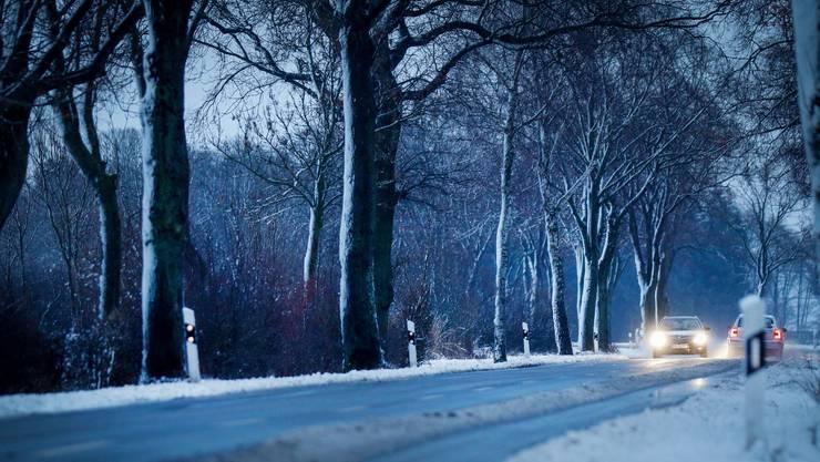 CVP-Kantonsrat Josef Wiederkehr fordert Verkehrssicherheit im Winter.  (Symbolbild)