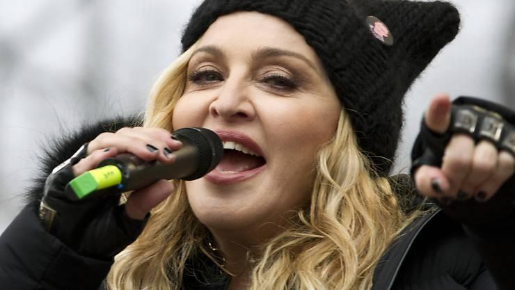 """""""Tod dem Patriarchat"""": US-Sängerin Madonna (60). (Archivbild)"""