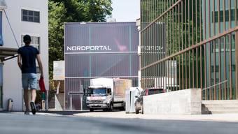 Zu der Auseinandersetzung kam es vor dem «Nordportal». (Archivbild)
