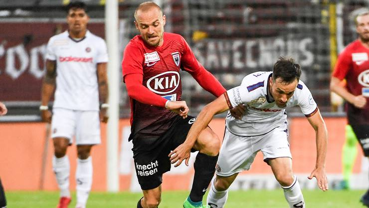 FCA-Königstransfer Marco Schneuwly startet nach zweimonatiger Verletzung nochmal von vorne