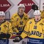 Ken Jäger (Zweiter von links, Nummer 92) spielt die nächsten zwei Jahre für Lausanne
