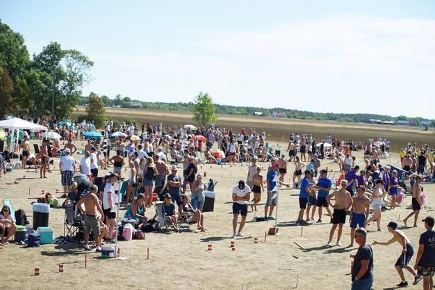 Am 4. August hat die Kubb-WM im schwedischen Gotland stattgefunden.