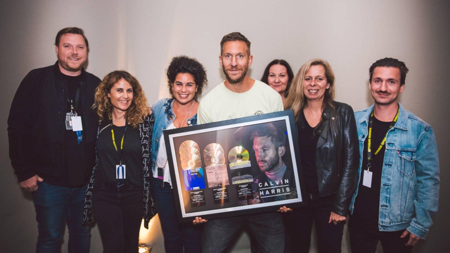 Platin für Star-DJ Calvin Harris