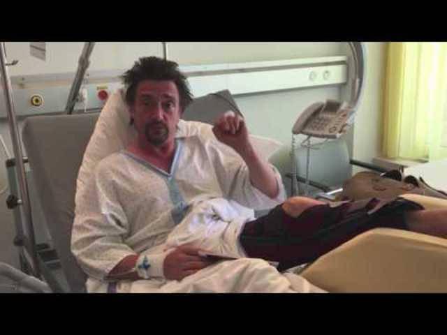 Videobotschaft aus dem Spital von Richard Hammond