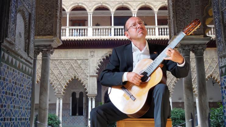 Gitarrenvirtuose Michael Erni.