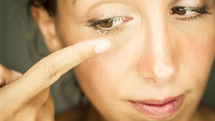 Die Novartis-Tochter Alcon stellt unter anderem Kontaktlinsen her.