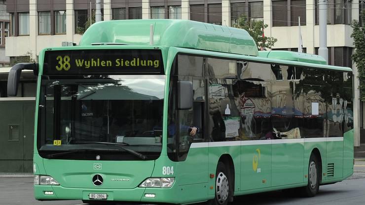 Etappe: Dem Ziel der Regierung, den grenzüberschreitenden ÖV zu stärken, ist sie mit der Verlängerung der Buslinie 38 nach Grenzach-Wyhlen ein Stück näher gekommen. (Bild: Kenneth Nars)